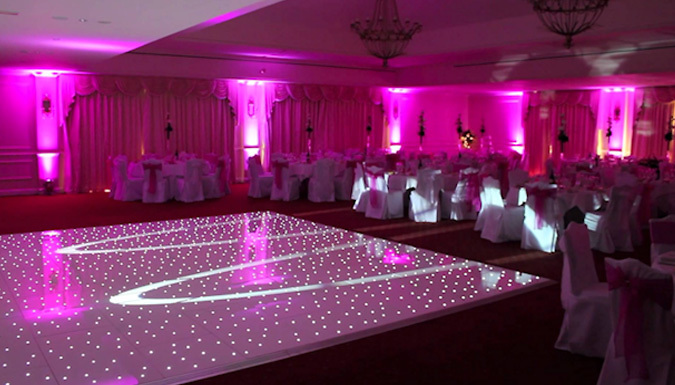 LED Starlight Dancefloor Hire
