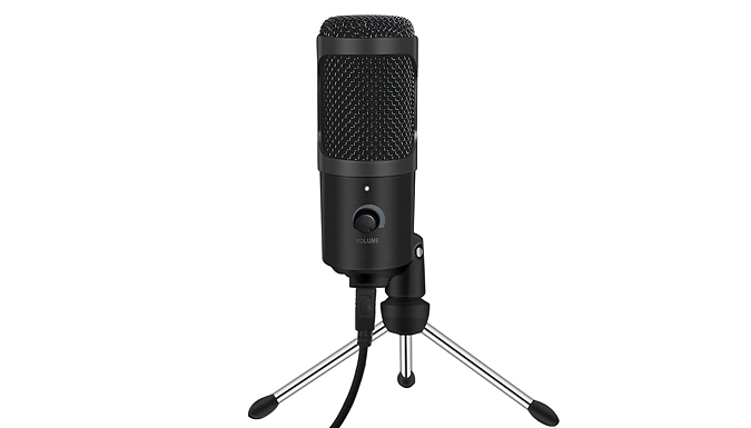USB Laptop Microphone with Tripod