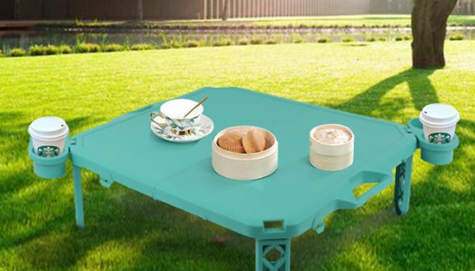 Folding Portable Picnic Table - 3 Colours