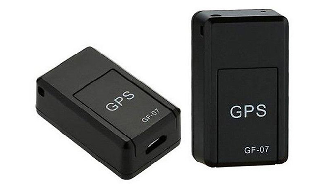 Magnetic GPS Tracking Device - Tracks in Real Time + Live Sound Recording!