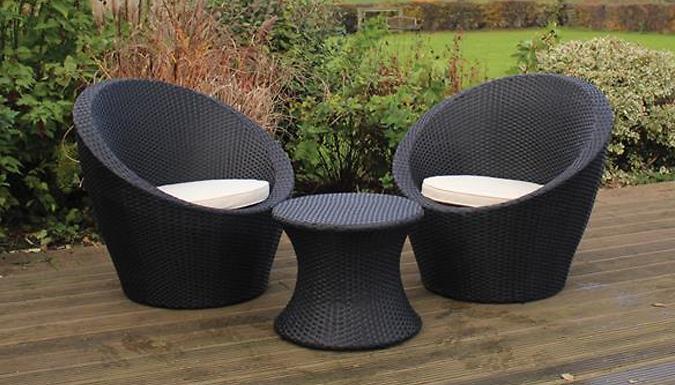 Rattan Table and Egg Chair Bistro Set (£179)
