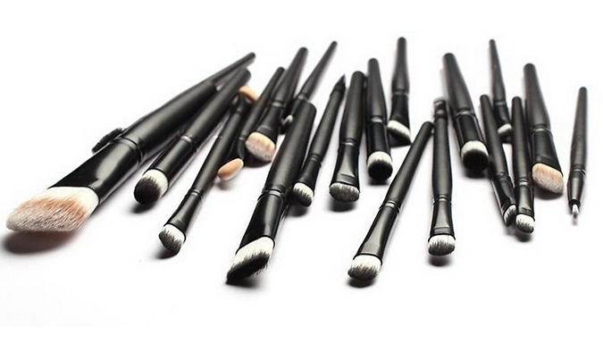 20 Piece Cosmetic Make Up Brushes Set