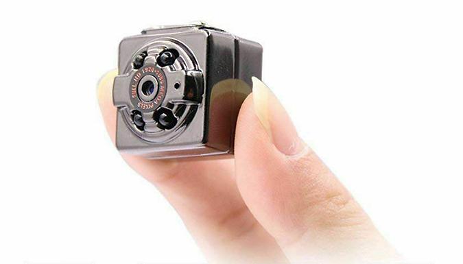 Mini 1080P HD Spy Camera (£7.99)