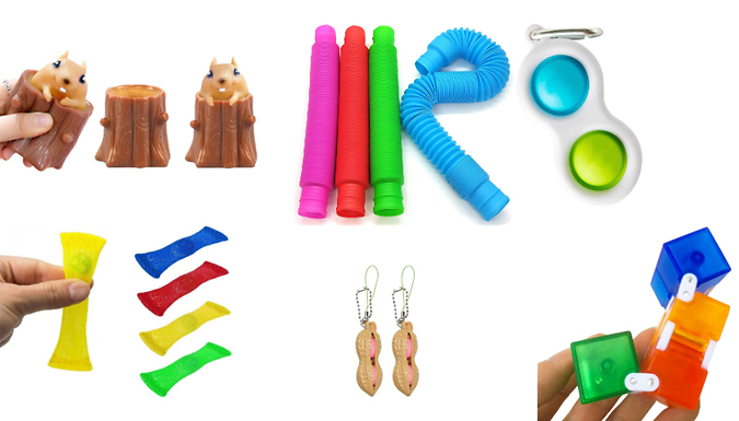 10-Pack of Fidget Toys