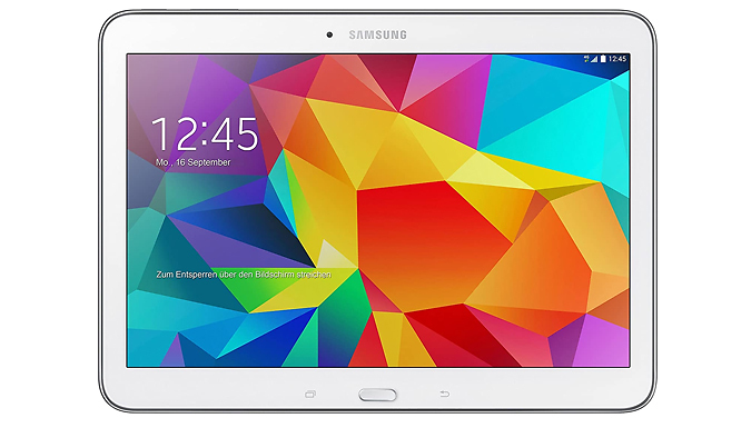 White Samsung Galaxy Tab 4 16GB