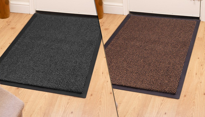 Save on Dirt Grabber Doormat - 4 Colours from Go Groopie
