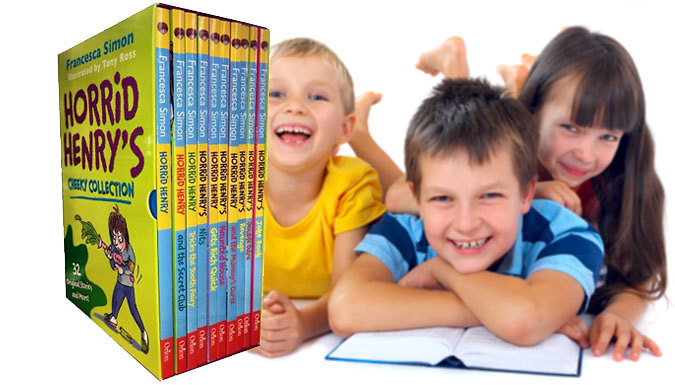 Horrid Henry Cheeky Collection 10Book Set
