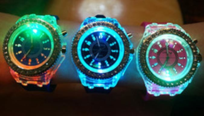 Light-Up LED Watch - 3 Colours
