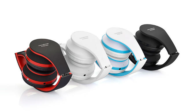 Foldable Wireless Bluetooth Headset – 4 Colours
