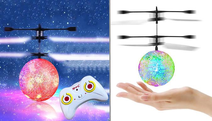 Hand Flying Ball - 3 Colours
