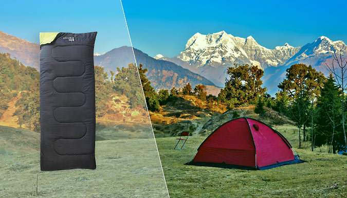 Yellowstone Envelope Sleeping Bag with Carry Bag