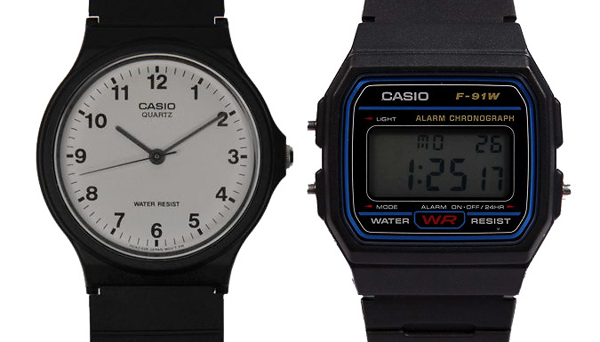 Casio Watches  2 Models