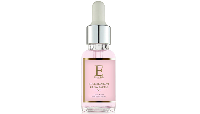 Rose Blossom Glow Skincare - 5 Hydro-Gel Eye Pads or 30ml Facial Oil