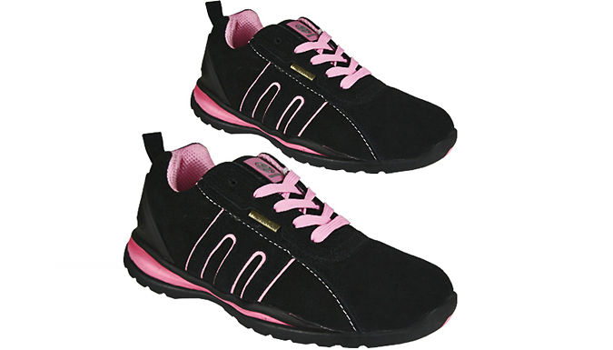 Women's Steel Toe Safety Trainers - Sizes 3 to 9