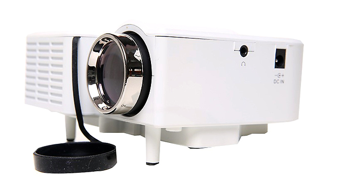 Portable Mini LCD Digital Projector - Free Delivery.