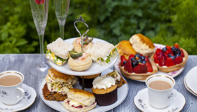 Classic Afternoon Tea with Optional Champagne For Two - Peterborough