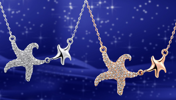 Starfish Bind Necklace; 2 Colours