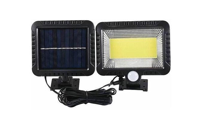 100 LED COB Solar Motion Sensor Wall Light
