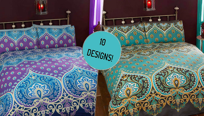 BohemianInspired Duvet Set  10 Designs