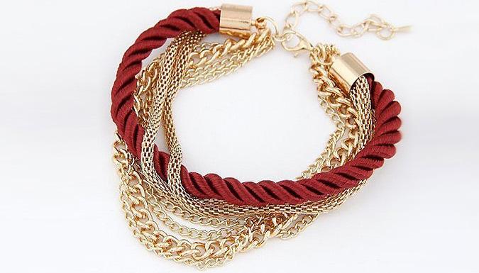 Multi Layered Bracelet; 5 Colours