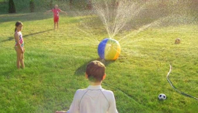 Kids Giant Water Sprinkler Ball