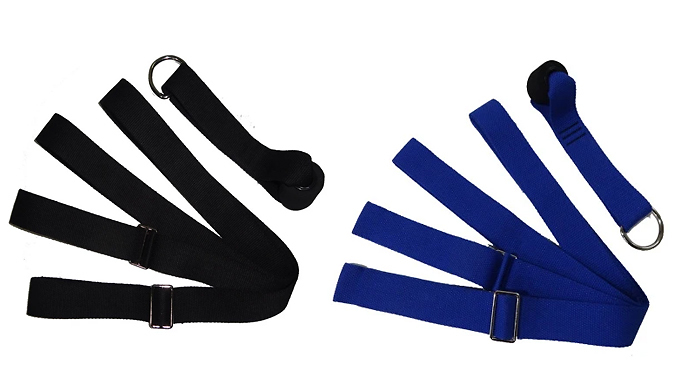 Flexibility Stretching Band with Door Anchor - 9 Colours from Wish Whoosh Offers