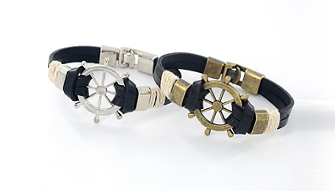 DDDeals - Nautical Wheel Bracelet - 2 Colours