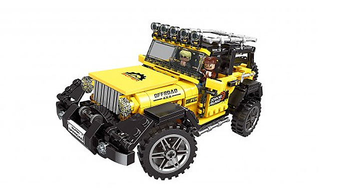 DIY Super Offroad Adventure Jeep from Good2items