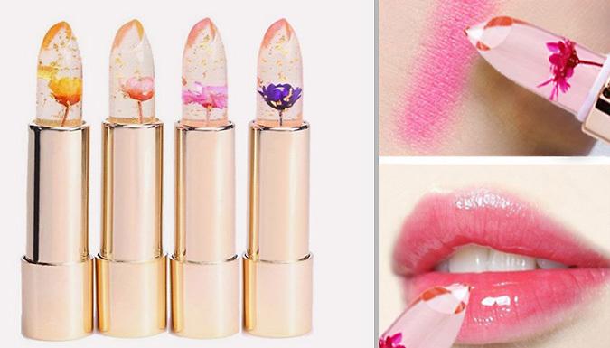 Magic Flower Jelly Lipsticks  4 Flower Colours