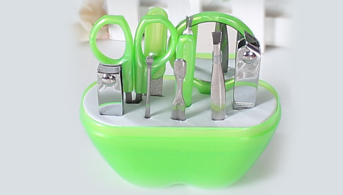 9pc Stainless Steel Manicure & Pedicure Set