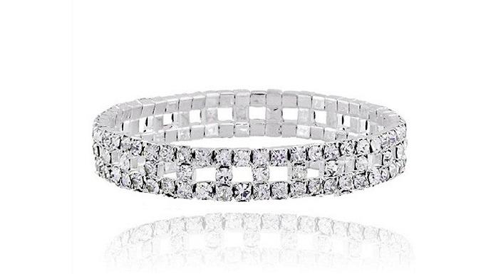 Crystal Row Bracelet