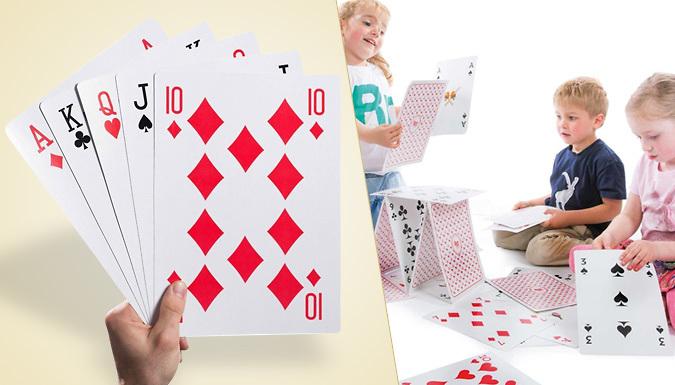 Set of Giant Playing Cards