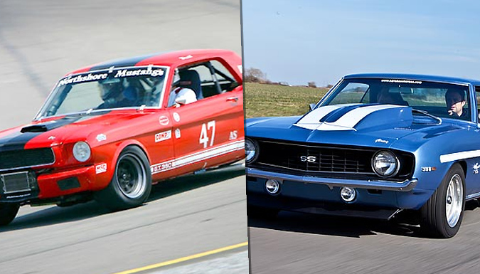 1, 3 or 6 Laps in 1 or 3 Classic American Cars - 7 Locations