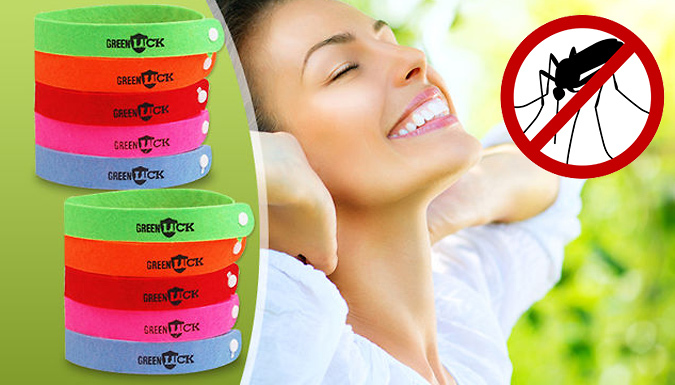 20 Mosquito Repellent Bands