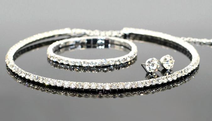 Sparkling Crystal Tri-Set