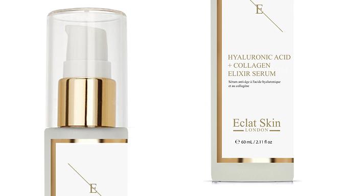 2-in-1 Hyaluronic Acid & Collagen Serum by Eclat Skin