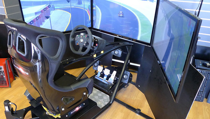 30-Minute Driving Simulator Experience For 1, 3 or 6 People - Kent