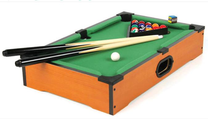 Desktop Mini Pool Table Set