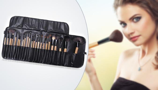24 Piece Make-Up Brush Set