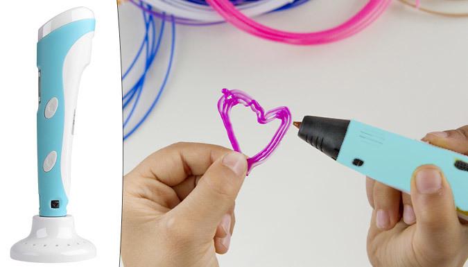 Electronic 3D Plastic Model Drawing Pen