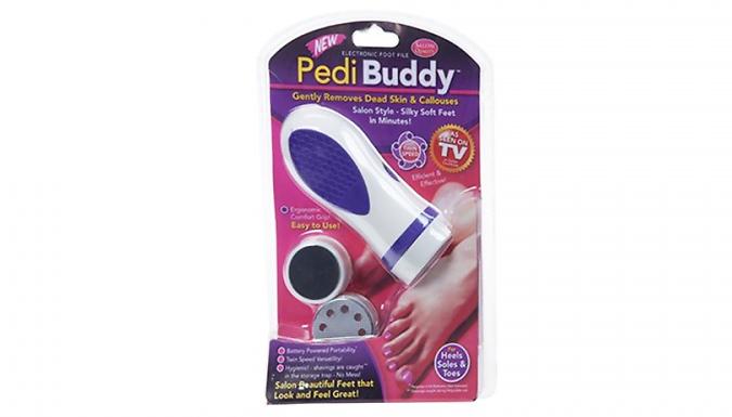 PediBuddy Electric Foot Exfoliator from Ebeez
