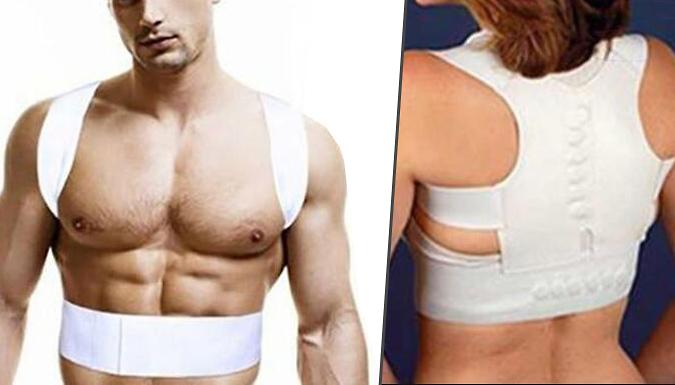 Back and Shoulder Support Vest