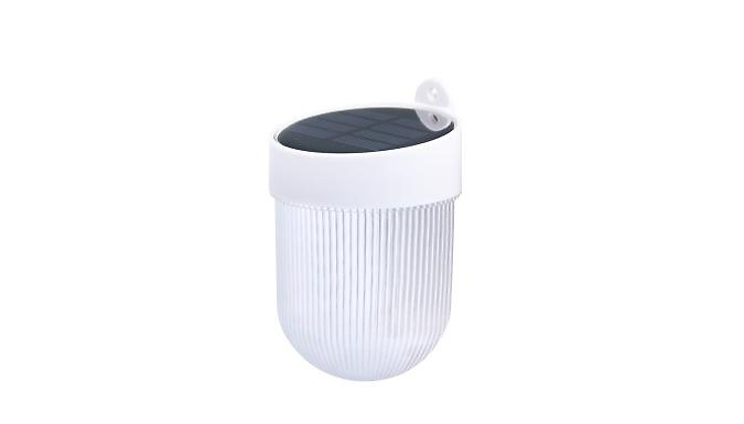 Solar Sensor LED Fence Post Lights - 1 or 2