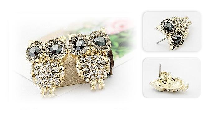 Cute Owl Earrings