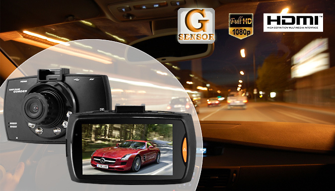 Full HD Accident Dash Camera With Night Vision