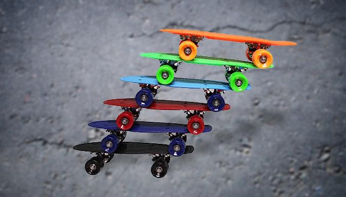 Small Retro Penny Style Skateboard - 6 Colours