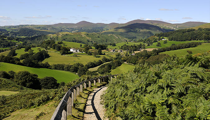 1-2 Night Stay With Wine Tasting - Save up to 31% from Gales of Llangollen