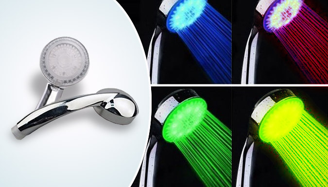 LED Colourful Shower Head