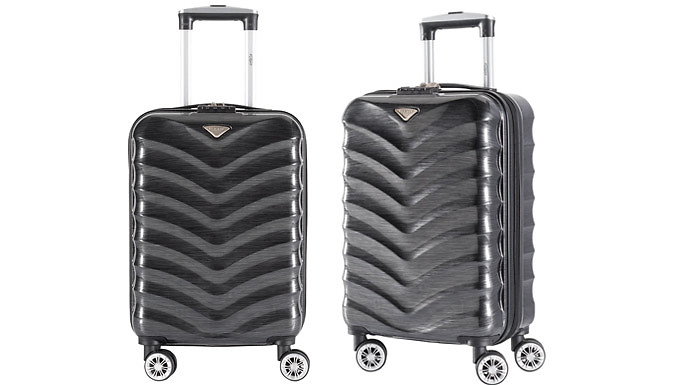 Lucan 21-Inch Cabin Hand Luggage Suitcase - 5 Colours from Mriah LTD