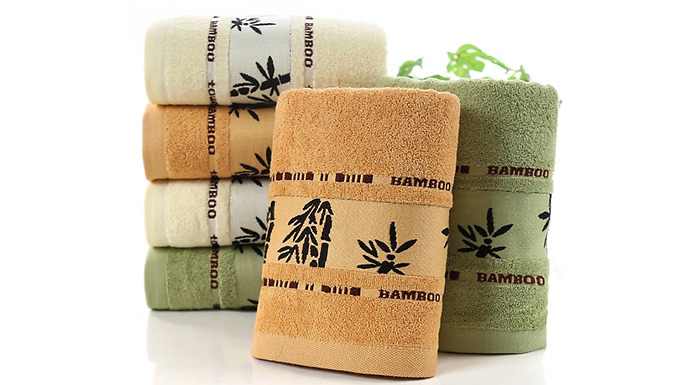 100% Bamboo Towel - 2 Sizes & 3 Colours